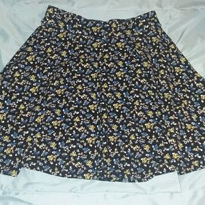 Floral patterned Skater Skirt